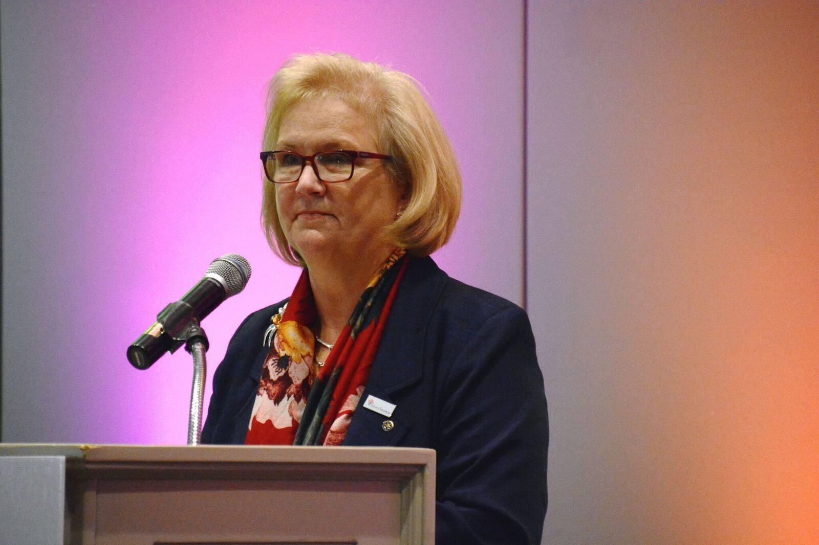 12A-Kathleen B. at podium
