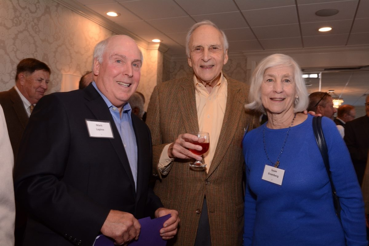 3-Mark Lapine, Jerry Berkman and Susan Greenberg