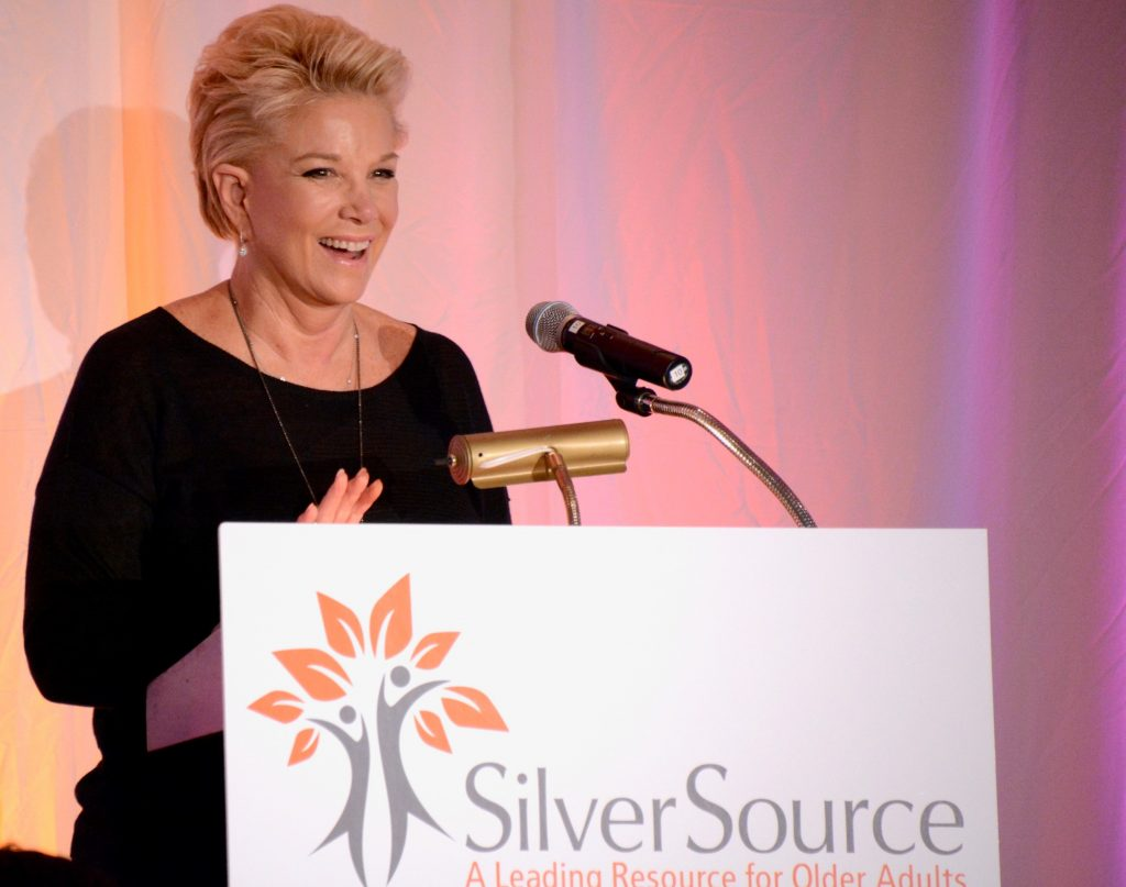Joan Lunden at SilverSource luncheon